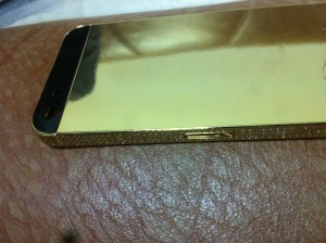 iphone 5 golden cover bezel housing